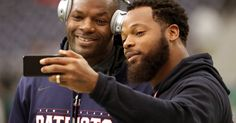 Bennett said he isn't worried about upsetting Patriots owner Robert Kraft, a friend of President Trump. The tight end said he isn't worried about upsetting Patriots owner Robert Kraft, a friend of President Trump. Brother Poses, Seahawks Players, Michael Bennett, Robert Kraft, Bet Awards, Tight End, Two Brothers, Espn