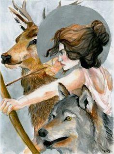 Artemis by grecioslaw