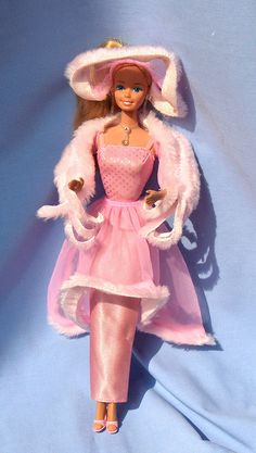 1981 - Pink and Pretty Barbie Oh how I loved this Barbie, then my little sister threw her and broke the head off!!!