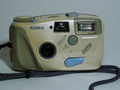 Vintage Konica Jump Camera,35mm Point And Shoot Camera,Vintage 35mm Camera