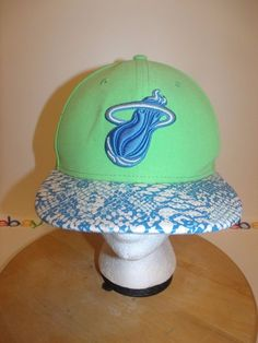 Miami MARLINS MLB New Era 9Fifty Orange Brown Strapback Adjustable Hat  Adult Cap  29981b5c567