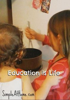"""One of Charlotte Mason's three prongs to education is that """"Education is a life."""" Education is not something made for a few hours out of the day and then to be pushed aside. Instead we learn through the entire day whether we mean to or not. IT is true children learn best through observing everyday...Read More »"""