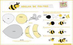 Agulhas Mágicas By Andréia Junqueira: Molde de Feltro