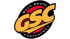 """For over two decades, the Gulf South Conference logo has remained the same. The most eye-catching part is the abbreviation """"GSC,"""" which is given in yellow. Conference Logo, Hockey Logos, Evolution, Champion, History, Historia"""