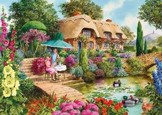 Gibsons The Little Treasures 1000 Piece Jigsaw Puzzle