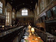 Cantine de Christ Church - Université d'Oxford, tournage des films Harry Potter