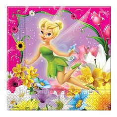 Disney Fairies Springtime Luncheon Napkins