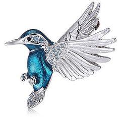 Bill Skinner Kingfisher Brooch Kingfisher, Brooch, Birds, Qvc, Personality, Moon, Animals, Gift Ideas, Beautiful