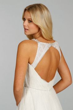 Ti Adora gown. Love the back feature.