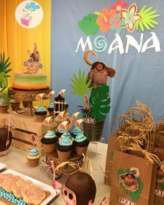 Moana Birthday ShowerBox Events Like us on FB #moanabirthday #myshowerbox