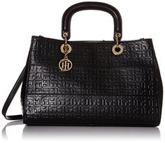 Tommy Hilfiger Sally Convertible Shopper Shoulder Bag, Black, One Size Tommy Hilfiger http://www.amazon.com/dp/B011CFCR7U/ref=cm_sw_r_pi_dp_3-6swb0BN1YTM