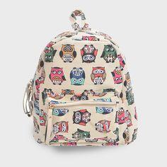 mini owl backpack B2S
