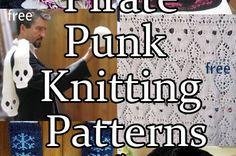 Pirate Punk Knitting Patterns