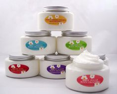 Whipped SHEA BUTTER Body Frosting  Over 200 Scents  by TheSoapNut, $7.00