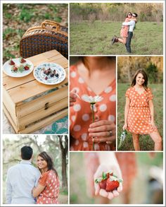 Picnic Wedding Inspiration Board