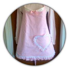 Valentine apron # Valentine , DIY easy