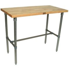 John Boos Kitchen Worktables: The Cucina Classico with Maple Top   Kitchensource.com
