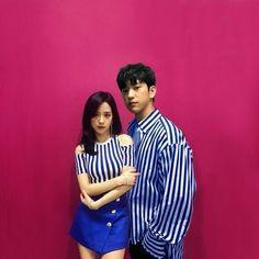 Jisoo and Jinyoung
