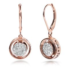 Contemporary lever-back earrings from the Nitez N Daze collection. Can be worn as a black or white diamond piece. Price: Regular price for this item is $680.00, the BLACK FRIDAY Special (26-Nov - 31-Dec-15) is a massive up to 60% off all Kobelli Jewelry. Price and availability subject to the supplier