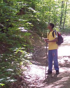 Fun activity for hiking kids: Sound Maps