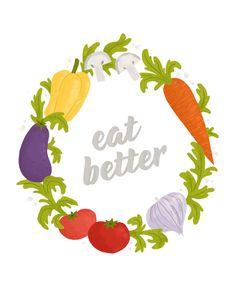 Resolution: Eat Healthy Food