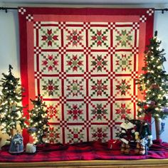 Cozy Little Quilts: It is starting to look like a Country Charmer Christmas :-D