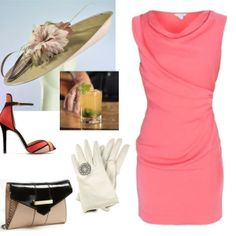 Kentucky Derby outfit #KentuckyDerbyFashion #KentuckyDerbyHats