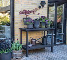 Sideboard - ritning — Almbacken Trädgårdsdesign