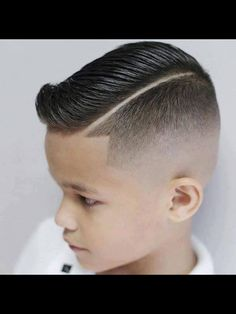 Always Love A Side Part On A Boy Or A Man This Just Adds To It, Very Nice!