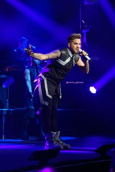 03/08/16 Adam Lambert at The Tabernacle in Atlanta, GA TOH Tour
