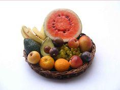 My tiny world: Dollhouse miniatures: Tropical fruits