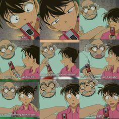 Shinichi's Reaction to Ran's call