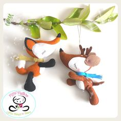 DREAMY DEER (PDF) This adorable DEER is just perfect to be part of a cute baby mobile or as a present for those DEER lovers out there!! As always quick, easy, and fun to make. This PDF document will give you instructions and patterns to hand-sew a lovely 4x4 inch DEER. See the