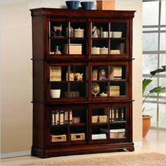 20 Best Amish Cherry Barrister Bookcases Images