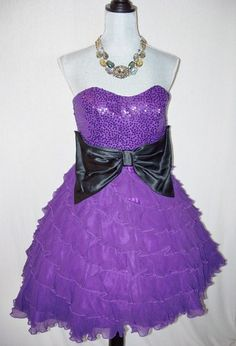If only it were on sale in my size.  Betsey Johnson purple tea party dress.