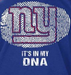 I bleed BLUE! #NYGDNA