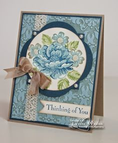 LW Designs: So Long Stippled Blossoms