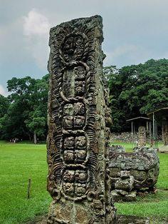 Honduras - Maya Site of Copan *   UNESCO World Heritage Site
