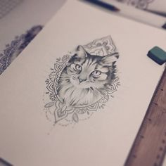 This is exactly how I want my Sunshine tattoo. Wow I've been waiting for an image like this! #tattoo #kitty