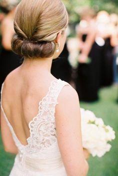 10 Romantic Wedding Updo Hairstyles For 2019 - Cool Global Hair Styles 2019 Elegant Wedding Hair, Wedding Updo, Elegant Updo, Trendy Wedding, Gold Wedding, Wedding Rustic, Woodland Wedding, Wedding Bride, Summer Wedding