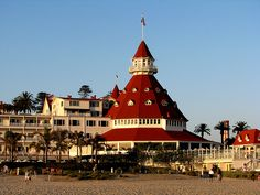 Hotel Del Cornado, San Diego, California.  Image by Rennett Stowe. where ill be on wednesday!!