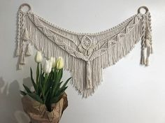 Nomad in Natural // Macrame Wall Hanging // Medium Tapestry