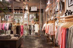 Odd Molly Boutique Lund, Sweden | Interior | Shop | Boho | Copper