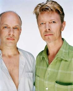 Brian Eno and David Bowie