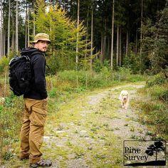 #Repost @pinesurvey  ・・・  Out with the original PenCott Retriever. Sometimes you just need the woods!  #woods #outdoor #walking #wandering #wanderlust #gear #gearporn #mysteryranch #helikontex #pencott #badlands #camo #prometheusdesignwerx #odyssesy #Golden #goldensofig #goldenretriever #retriever #trees #intothewild #intothewildgear #betheoutsider #livefreeadventureon