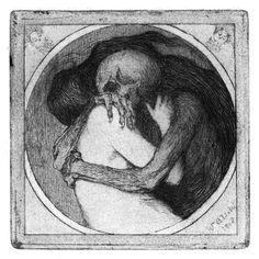 Włodzimierz Błocki (1885–1920) … Kiss of Death… 1908