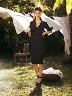 Kleid - Blusenoptik