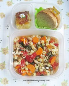Daily Bento | We Should Be Folding Laundry │ packed in @EasyLunchboxes