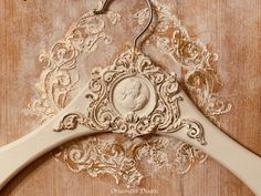 Ornaments Design, Hangers, Decoupage, Handmade, Diy, Coat Hanger, Boxes, Iron, Wood