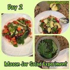 Mason Jar Salad Day 2